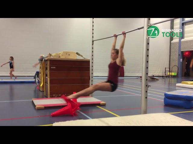 Kip Drills Exercises Uneven Bars Gymnastics