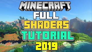 How to install Shaders for Minecraft! (WORKING 2019)