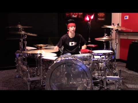 Mötley Crüe Red Hot Drum Cover - Stevie Ashe