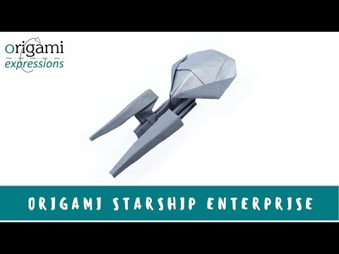 Origami Starship Enterprise