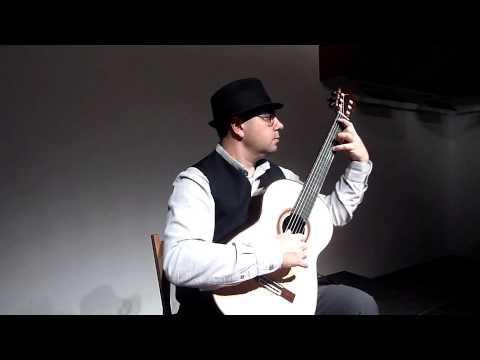 Beautifull Blue Danube on Classical Guitar