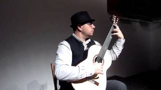 Beautifull Blue Danube on Classical Guitar