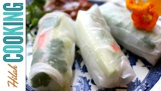 Baixar How to Make Fresh Spring Rolls or Summer Rolls | Hilah Cooking Ep 30