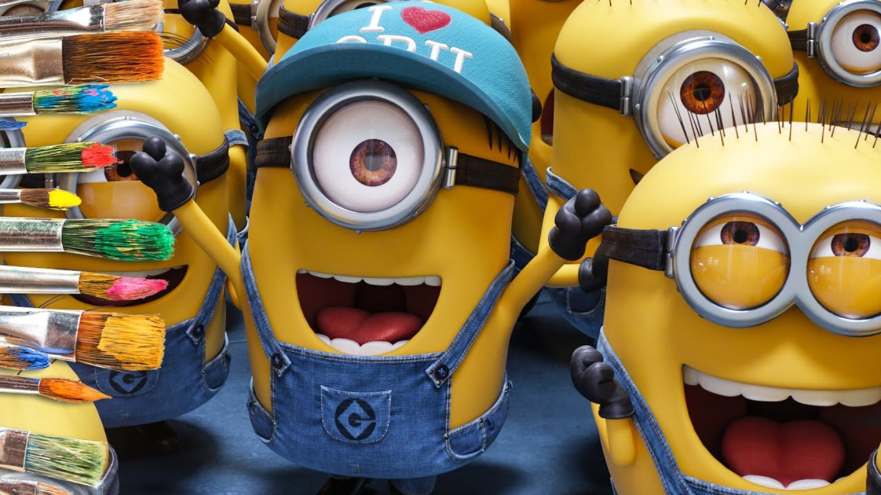 coloring despicable me 3 movie minions kids coloring book
