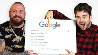 True Geordie and Laurence Answer Their Most Googled Questions