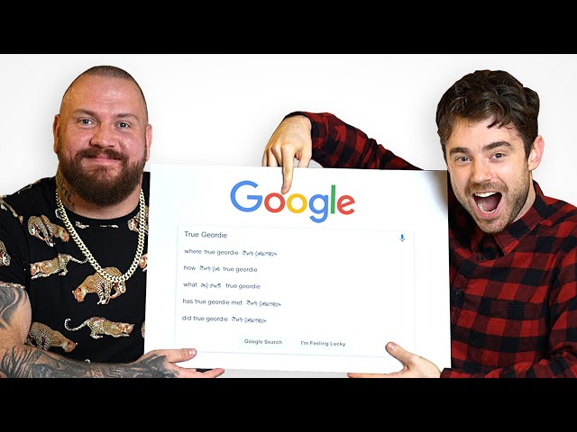 True Geordie and Laurence McKenna Answer Their Most Googled Questions