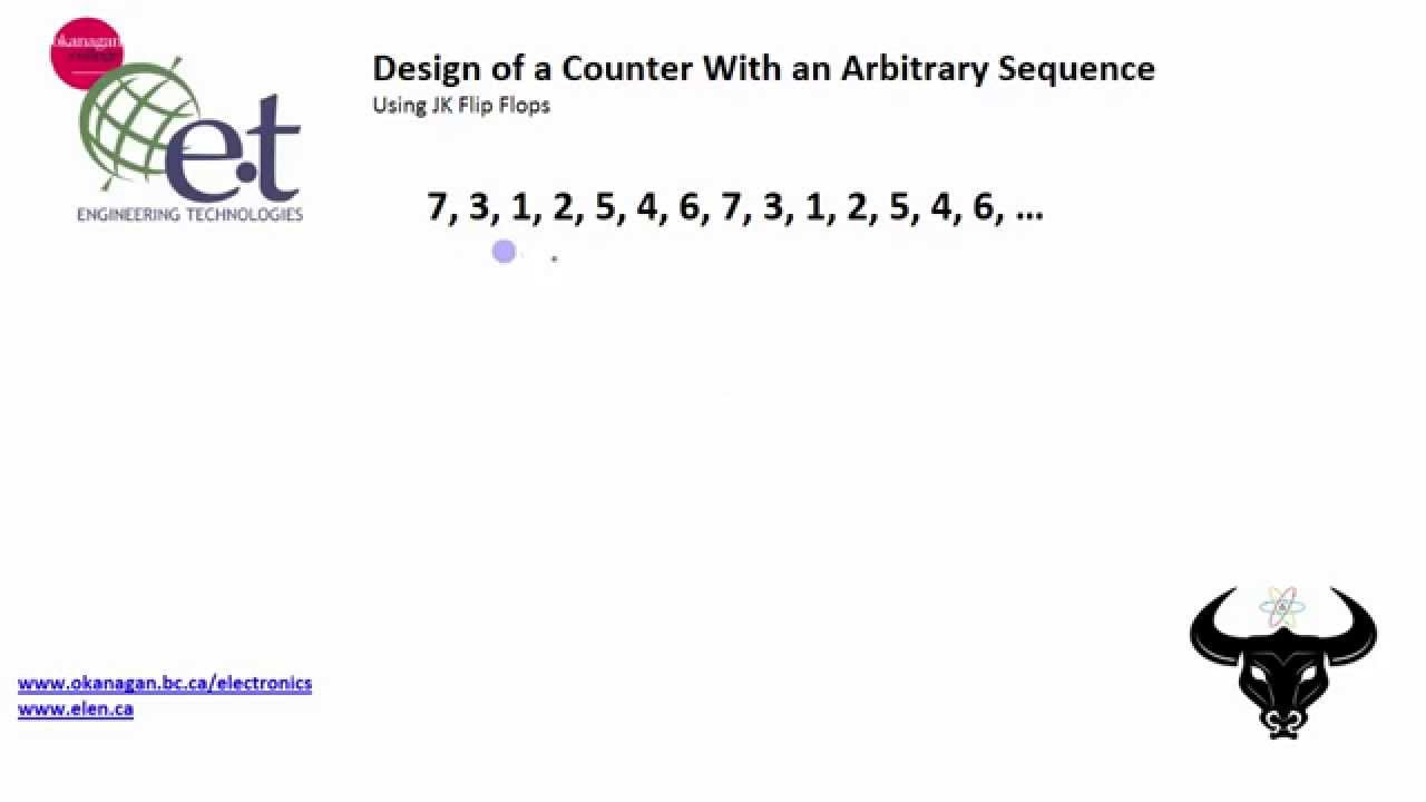 Design A Counter With An Arbitrary Sequence 1 3 Youtube Binary Circuit Diagram
