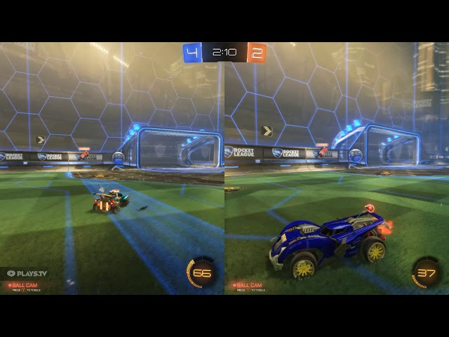 Rocket League: DFH Stadium 2 Player Vs Bots