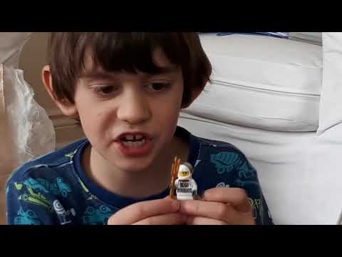 Liam's Lego Robber Supply Boat Review.