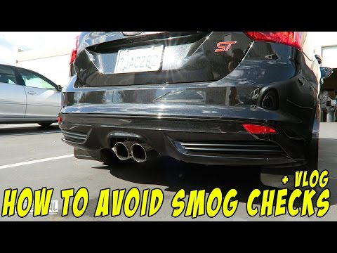 How to avoid Smog Check Legally