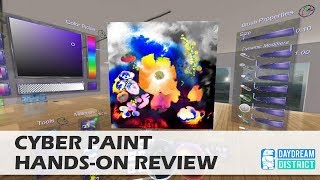 Get Creative in VR! Cyber Paint for Daydream VR!