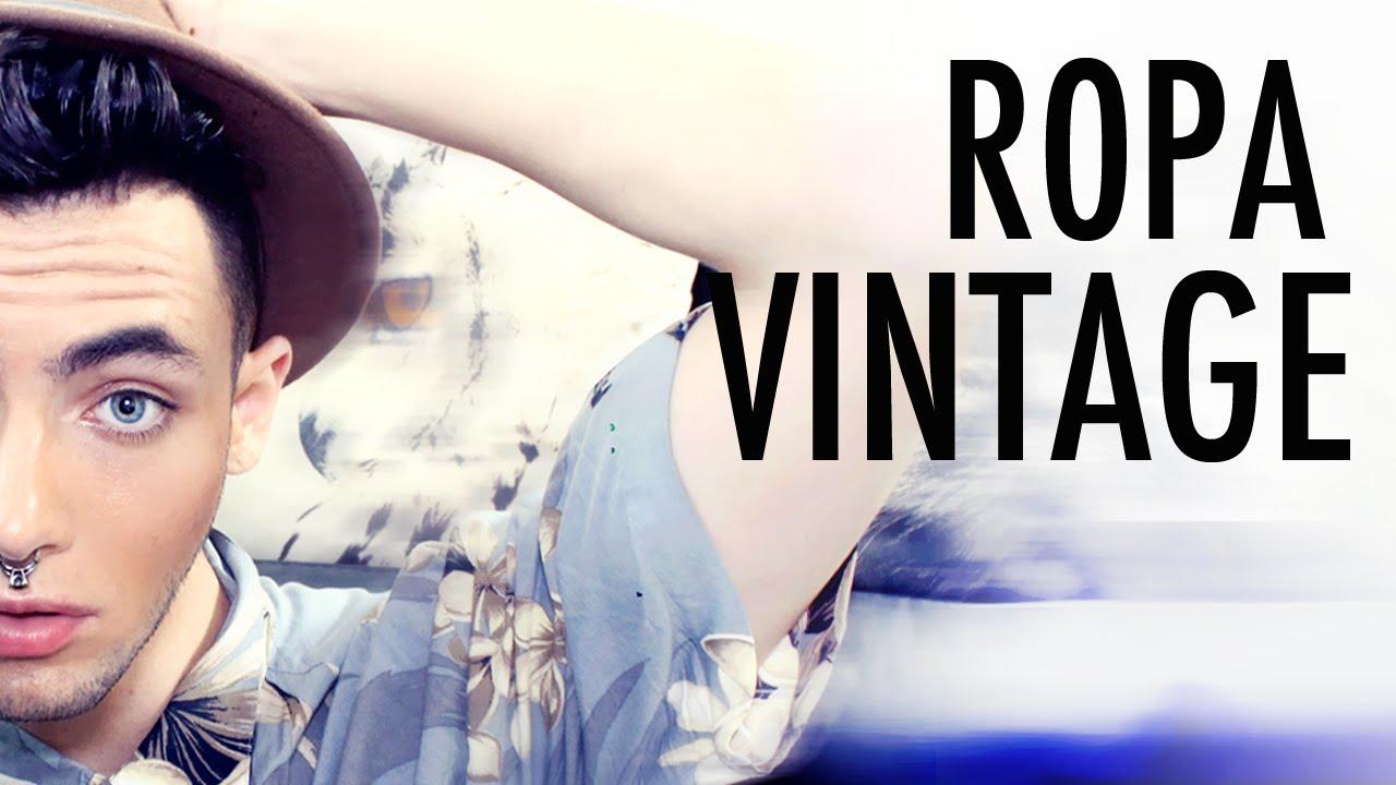 C mo comprar ropa vintage ropa de segunda mano - Ropa vintage sevilla ...