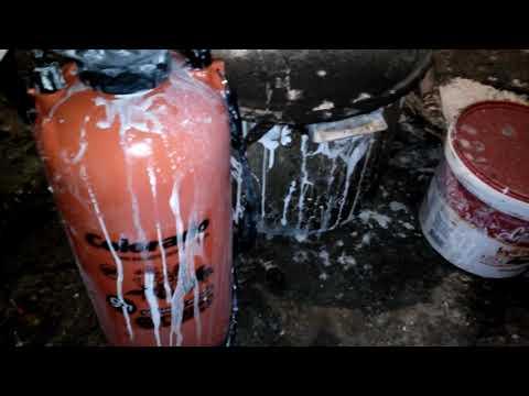 Как по белить после пожара!Как очистить стены и потолок от сажи и копоти после пожара