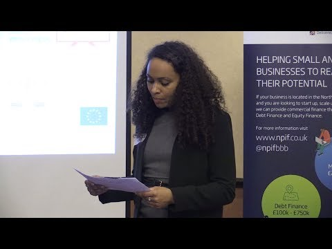 Helping SMEs Grow Through Funding | Melissa Liburd - (Leeds City Region Enterprise Partnership)