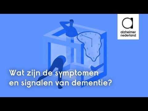 De Symptomen En Signalen Van Dementie Animatie Youtube