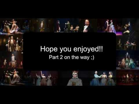 Hamilton Off Broadway Lyrics Part 1