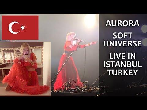 AURORA Soft Universe Live in İstanbul TURKEY (Zorlu PSM)