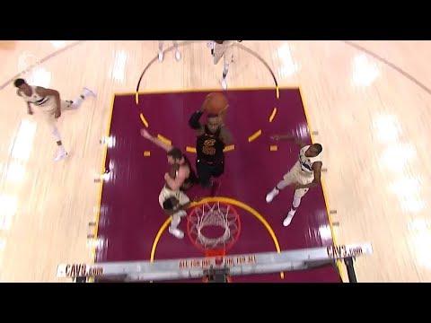 LeBron James Coast-to-coast Dunk | Bucks vs Cavaliers | March 19, 2018 | 2017-18 NBA Season