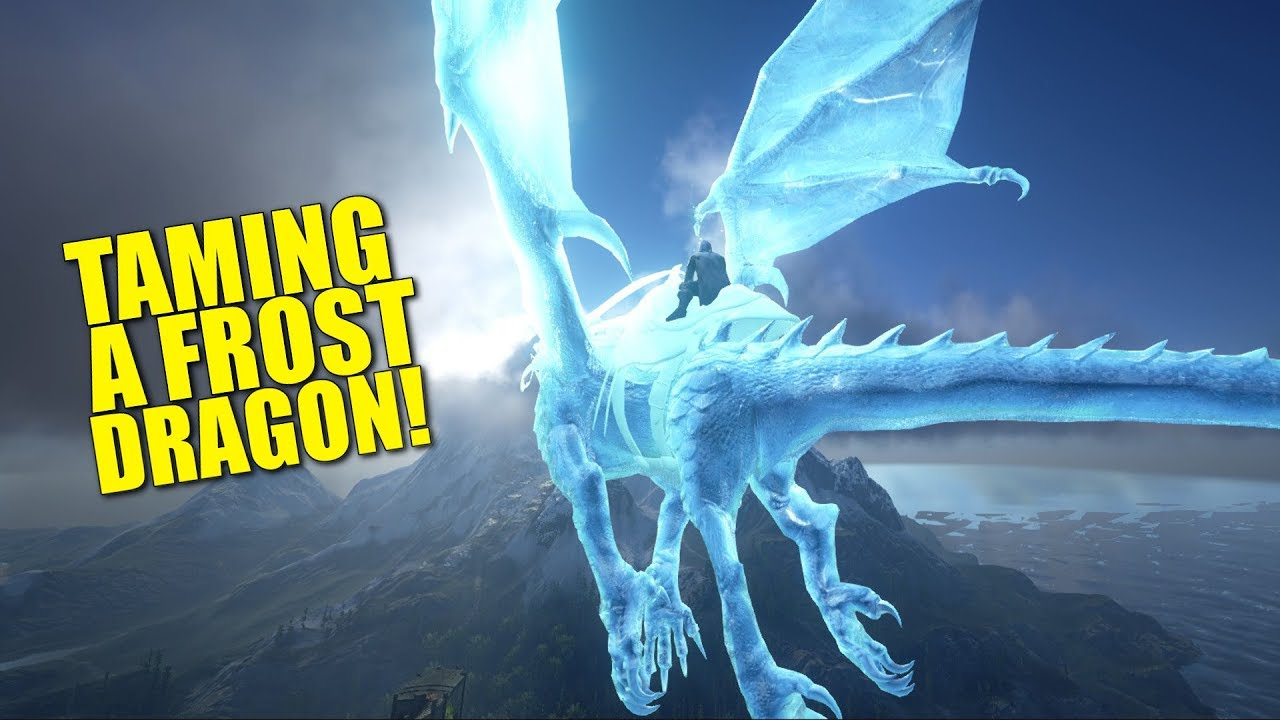 Frost Dragon: Taming A Frost Dragon! (Official Pvp)