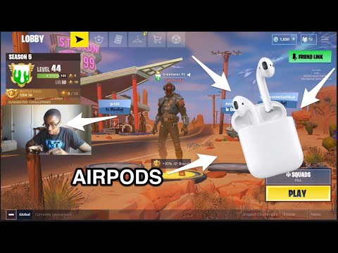 Playing with My AIRPODS in FORTNITE  Will It Help Improve My Chance of WINNING? - YouTube