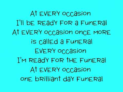 Band of Horses - The Funeral with lyrics