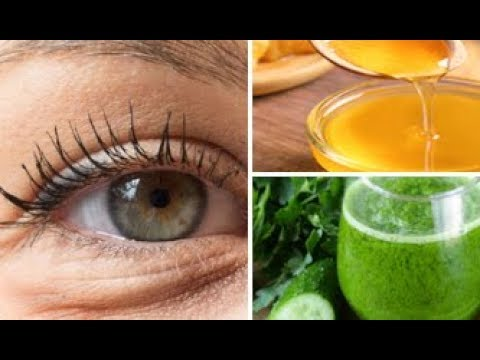 Apply This Mixture On the Dark Circles Under Your Eyes and Wake Up Witho...