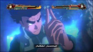 Gai vs Kisame | Naruto Shippuden Storm Revolution