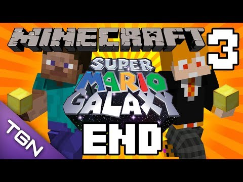 Minecraft : Super Mario Galaxy Map - นักเก็บทอง Part.3 [END]