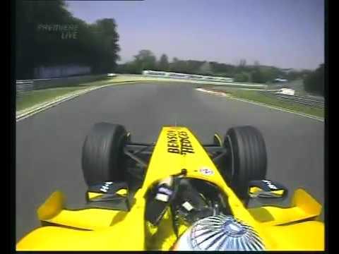 F1 Hungary 2005 Qualifying   Narain Karthikeyan Onboard