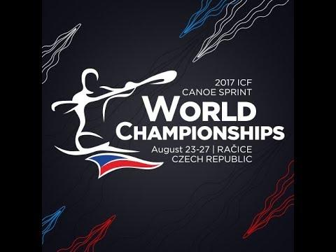 #ICFsprint #ICFparacanoe 2017 World Championships, Racice, Sunday morning 8:50-10:00 CEST