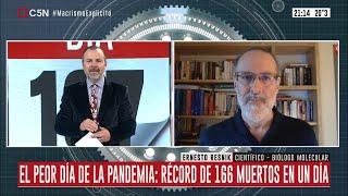 Entrevista a Ernesto Resnik en Minuto Uno