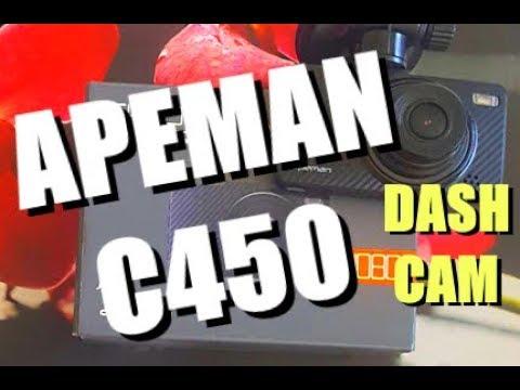 APEMAN C450 1080p Dash Cam