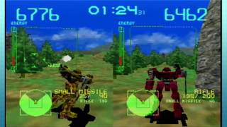 Armored Core Master of Arena (PS1) -1- Geren Gets Really Mad