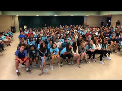 Pete's Diary Visits Las Flores Middle School