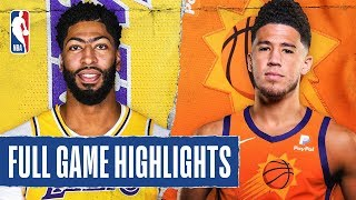 LAKERS at SUNS | FULL GAME HIGHLIGHTS | November 12, 2019