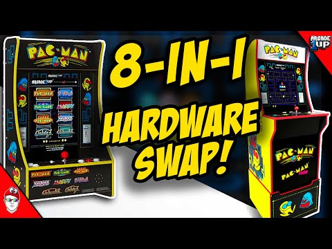 Arcade1up turn Pac-Man 2-in-1 into 8-in-1! from Console Kits