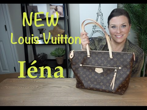 NEW Louis Vuitton Iéna | Reveal and Unboxing