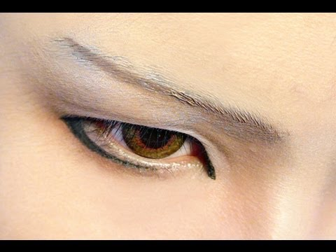 how to make anime eye makeup