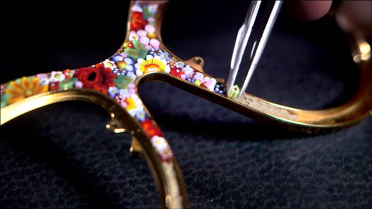 62d5d6da56 Técnica de micro mosaico para Dolce y Gabbana - YouTube