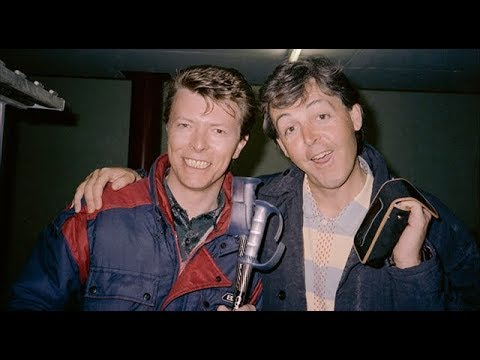 David Bowie and Paul McCartney  - Valentines Day