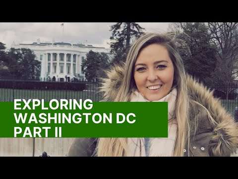 Exploring Washington DC Day 2 & 3 ll Museums & Capitol Tour