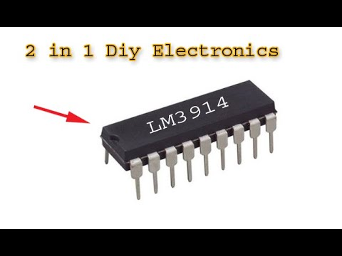 2 in 1 awesome diy electronics projects using LM 3914