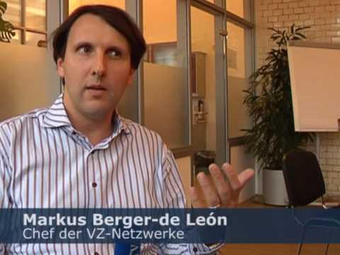 Markus Berger-de León erklärt WELT KOMPAKT seine VZ-Netzwerke - Teil 1