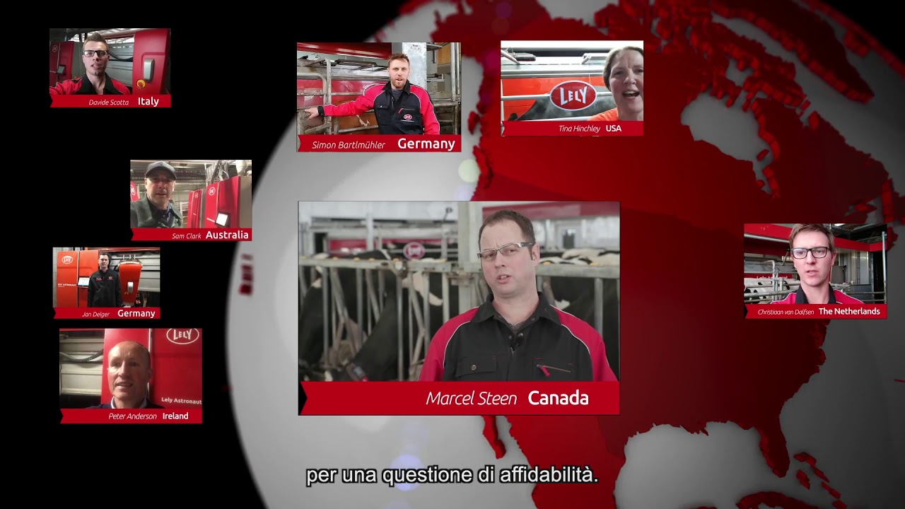 Lely Astronaut A5 – Le esperienze dei nostri allevatori – video 5 (IT)