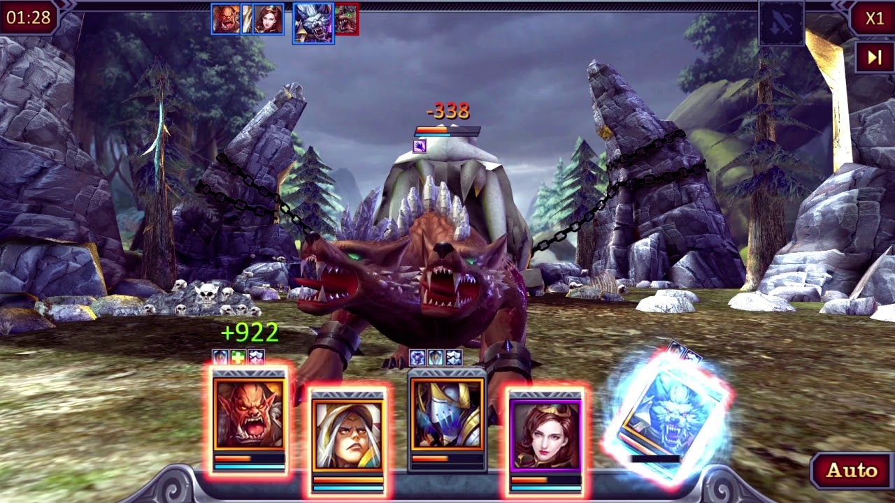 Dungeon & Heroes: 3D RPG - by DroidHen - #9 App in Dungeon