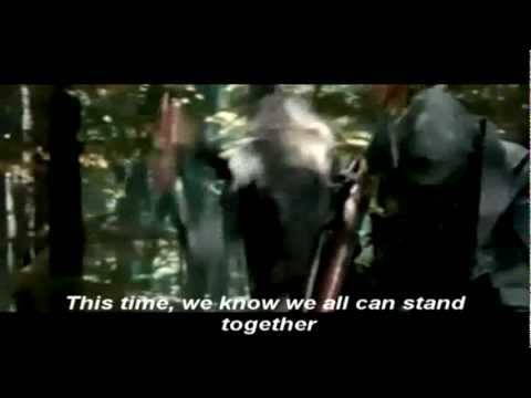 Blind guardian-You're the Voice lyrics(lord of the rings)