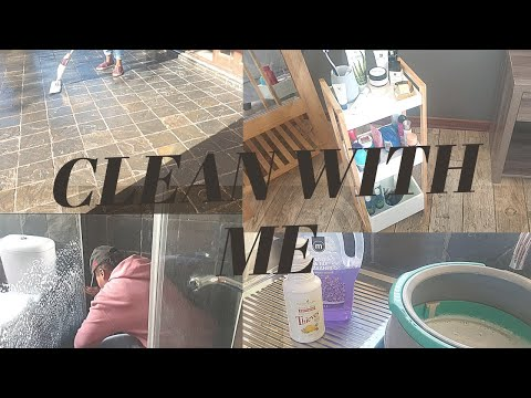 NEW CLEAN WITH ME // SATISFYING CLEANING MOTIVATION // SOUTH AFRICAN YOUTUBER