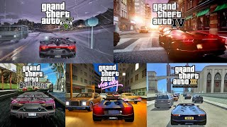 GTA Series Ultra Realistic Graphics VS | V Redux 1.5 | IV DG | VC CryENB | SA DX | III ICEnb 4K!
