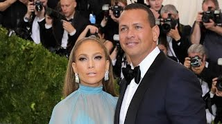 Jennifer Lopez and Alex Rodriguez Make Red Carpet Debut as a Couple at Met Gala -- Pics!