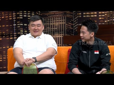 Hanri Yustanto, Berbobot 140Kg Tapi Jago Badminton | HITAM PUTIH (13/02/19) Part 4
